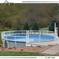 UV proof high strength aluminum insert pool fence