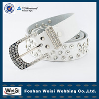 exclusive design fashionable crystal beaded belt for wedding
