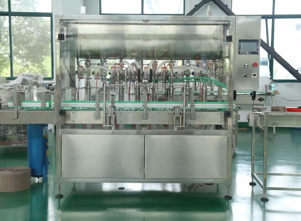 CE standard high speed plastic bottle oil filling machine with factory price