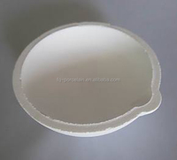 High quality with resonable price Fuqiang the most reliable supplier Fused Silica smelting gold basin Crucible for gold melting