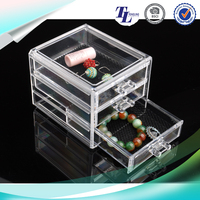 New Style 2016 ps makeup organizer clear box cosmetic cases