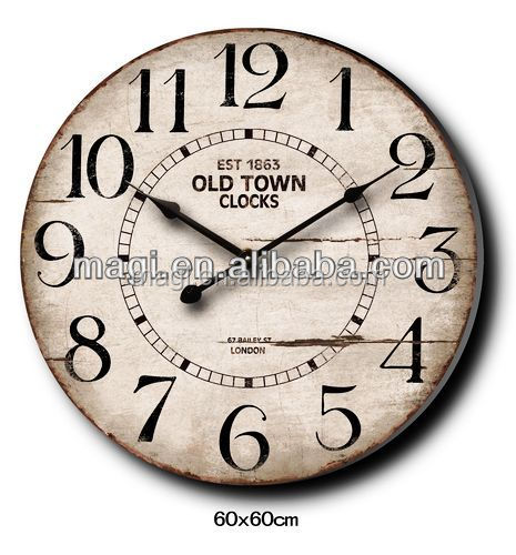 antique Numeral promotional wall clock