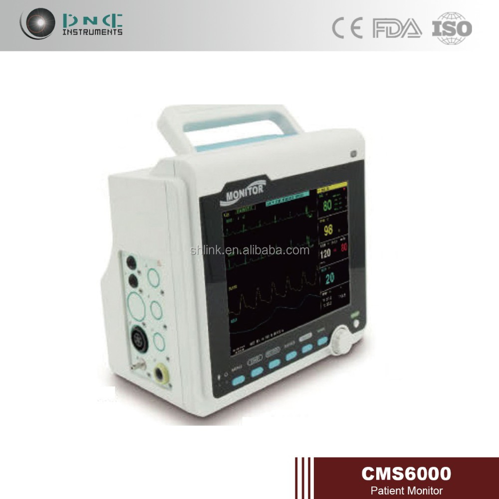 CE medical instrument professional CMS6000 multi-parameter monitor patient