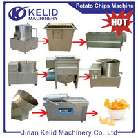 Fried Automatic potato chips making machine price