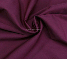 TC fabrics polyester/cotton blend plain woven white and dyed fabrics China supplier