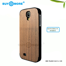 the simple wood mobile phone case for samsung s4 customized cellphone bamboo cases for samsung s4
