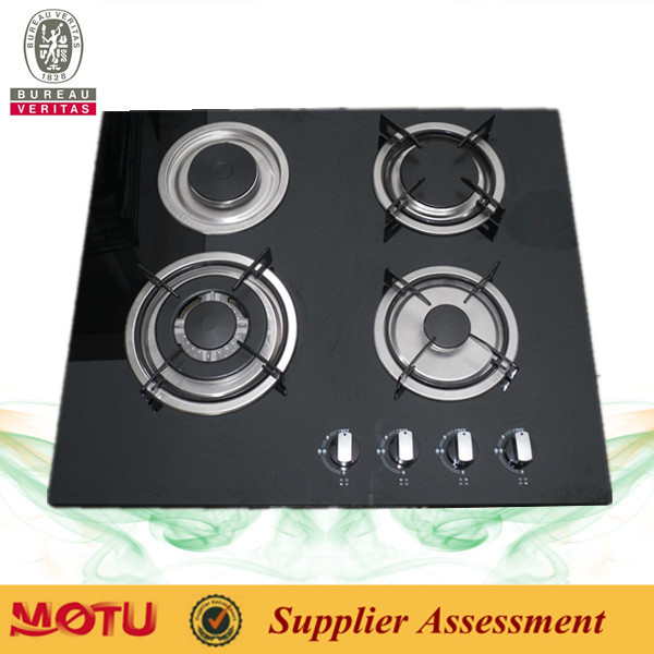 Build-in 4 burners high temperature gas hob