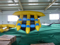 2016 inflatable flying fish tube towable / inflatable banana boat/ flying fish