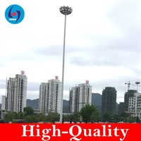telecommunication monopole antenna tower Square lamp pole