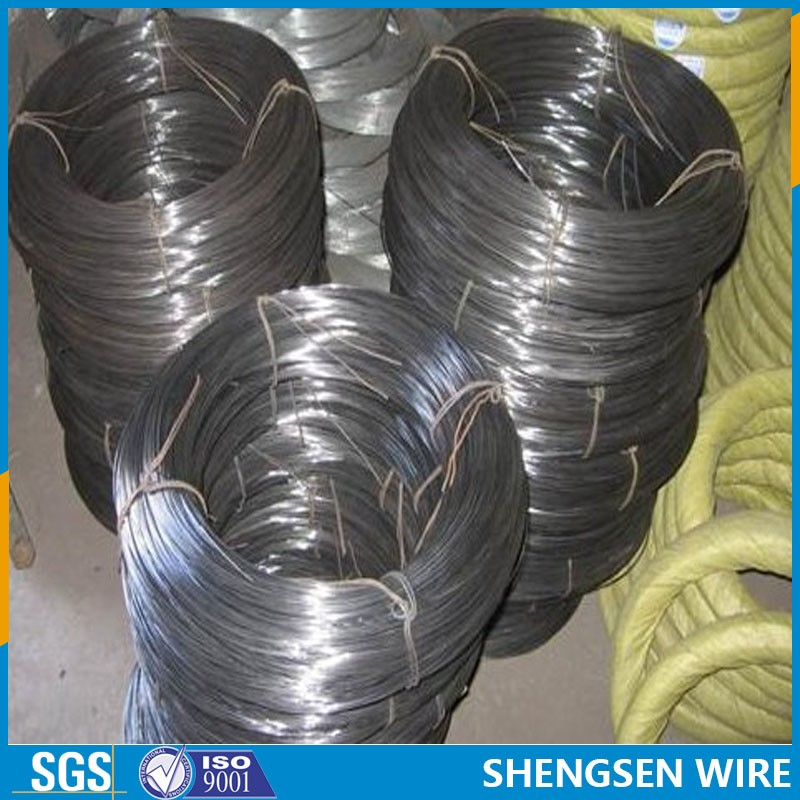 high quality soft black annealed iron wire for binding hualude
