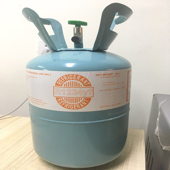 high quality chemical refrigerant gas R1234YF cylinder price