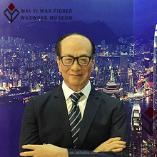 adult silicone wax figure of Li Ka-shing