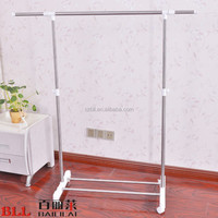 L305B Stainless Steel Movable Single Pole For Hanging Clothes