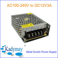 Modern&Adjustable AC to DC IP67 Waterproof Led Power Supply 150W 12V, By manufacturer&Supplier