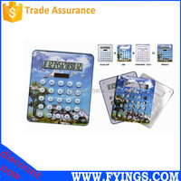 OEM 8 digital solar promotional transparent graphic calculator solar cell