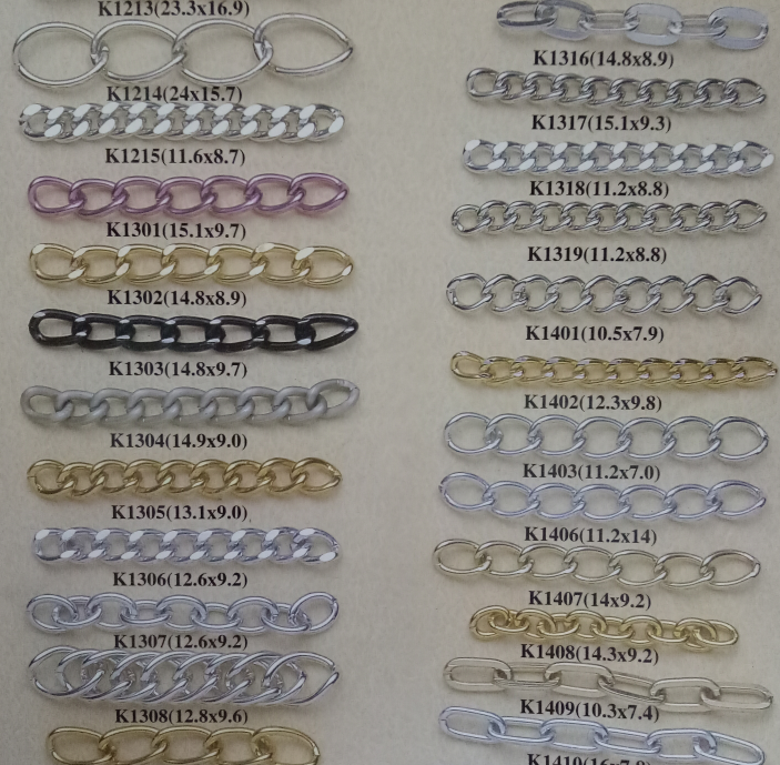 wholesale Cheap custom metal decorative handbag chain from factory