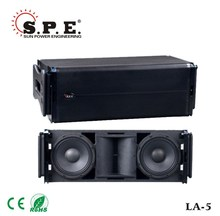 professional line array 10inch 500w 3-way active speaker LA-5 spe audio