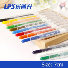 Rainbow Crayon Pen Rotatable For Children Crayon Set 12 Colors High Quality Art Supplies Silky Twist Crayon
