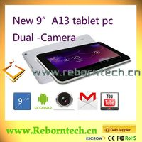 9 Inch Android 4.2 Mid Tablet PC/ Computer Tablet Mini Laptops/Cheap Wifi Dual Cameras 9 Inch Tablet PC
