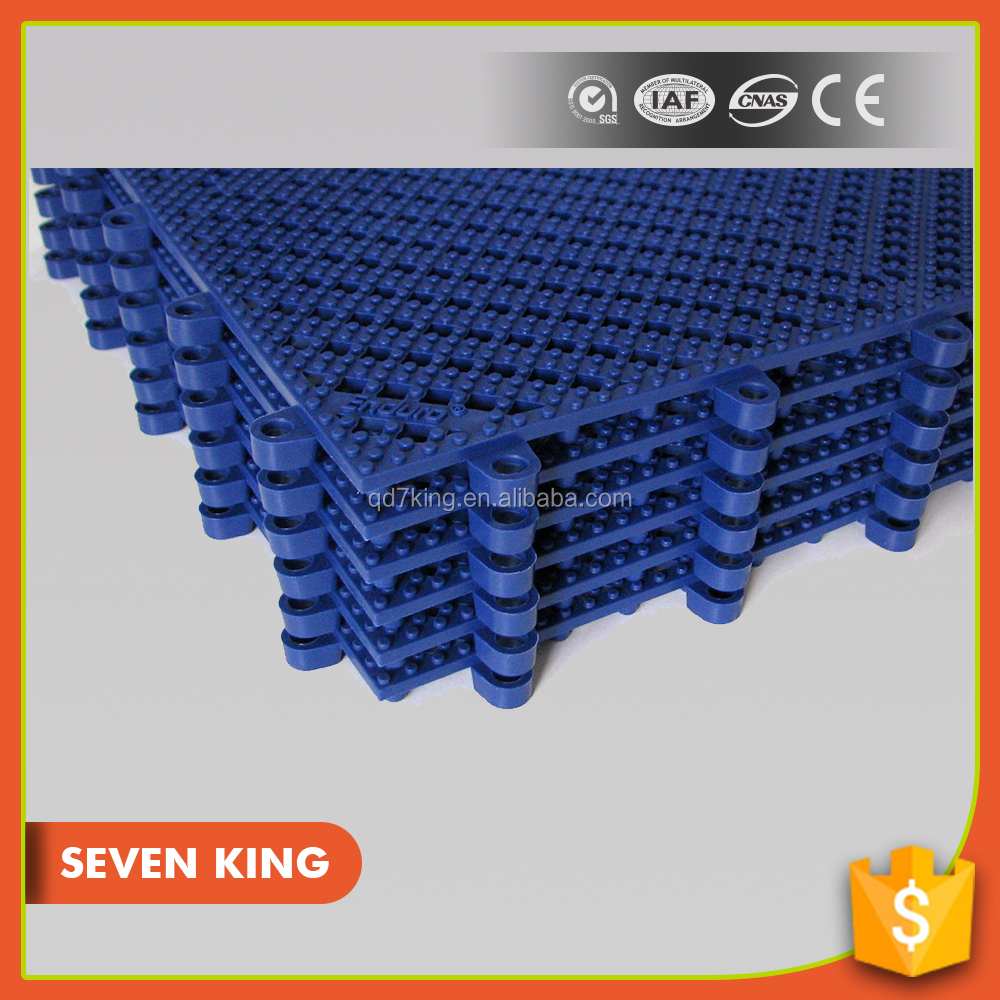 Qingdao 7king best-selling pvc clear hotel bath flooring tile mat with low price