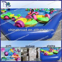 Best quality customized size 0.9mm pvc cartoon inflatable pool