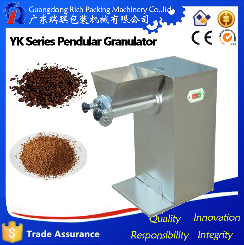 Automatic salt/sugar/beans/washing powder granulating machine