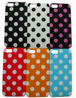 Polka Dot Design TPU Gel Case Cover for Iphone 5