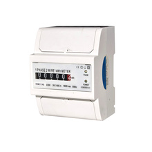 Best Selling Single Phase Din Rail Electric Meter Calibration Meter /Electronic Energy Meter