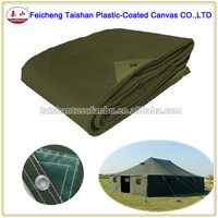 Heavy Duty Canvas Tarpaulin Waterproof Canvas Fabric For Tent