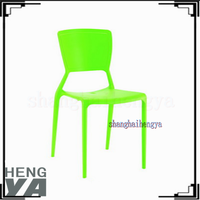 Cheap modern bright colored plastic chairs
