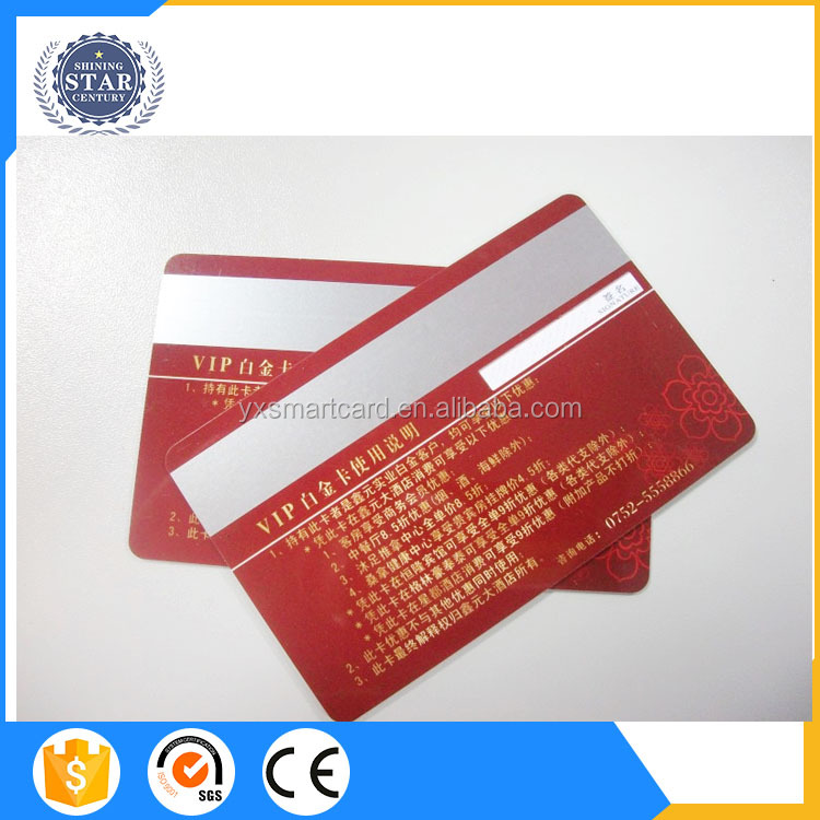 SLE4442 blank visa credit cards size certified ISO 7816