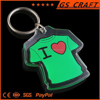 Unique new arrival cheap clothing key chain