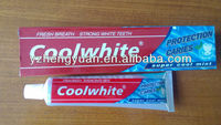 2013 new products on market,toothpaste production,toothpaste factory
