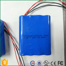 18650 14.4v 2000mah and 2500mAh ni-mh battery pack