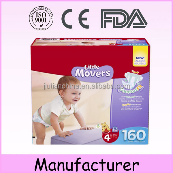 World top manufacturer of diapers Japanese quality free samples low moq disposable pampering baby diapers with soft surface