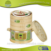 2016 Hot Selling electric food steamer wholesale bamboo food steamer With high quality