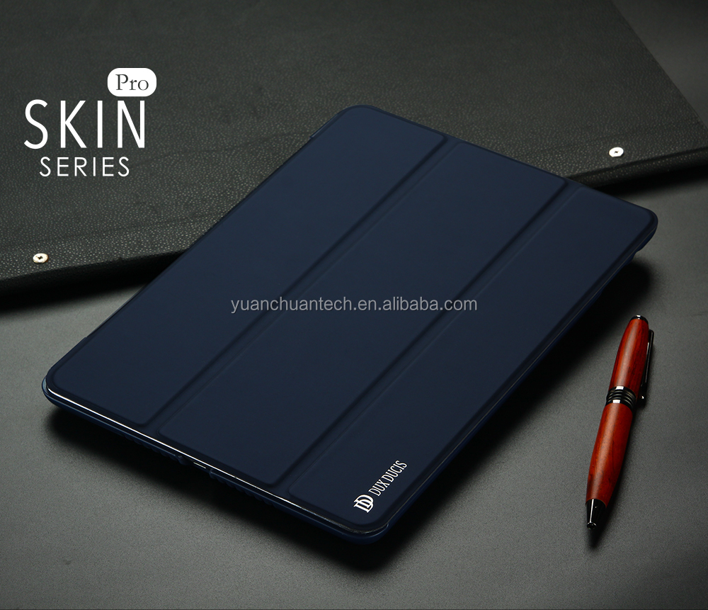 DUX DUCIS Skin Series PU+TPU Leather Case With Dormant Function Case Cover For The New iPad DD-012