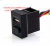2in1 Car 5V 2.1A USB Interface Charger,Car Air Purifier,Ionizer
