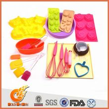 Most customer service silicone rose cake decorating mold(GIS17773)