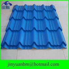 beautiful color steel roof tile glazed tiles