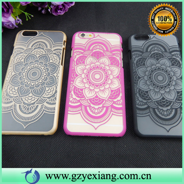 Hard Plastic Design Cover High Quality Case For Samsung Galaxy S7 Edge Flower Pattern