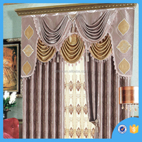 2016 Modern style waterproof Polyester printed window curtain , blackout curtain,made in china