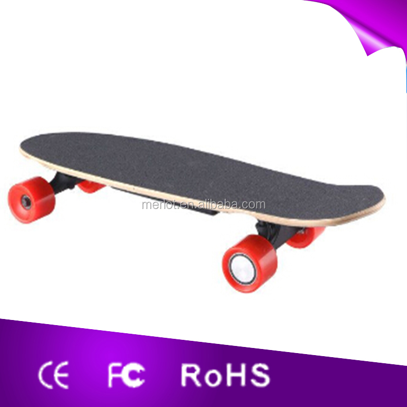 2016 new hot sales dual motor four wheel electric skateboard with CE