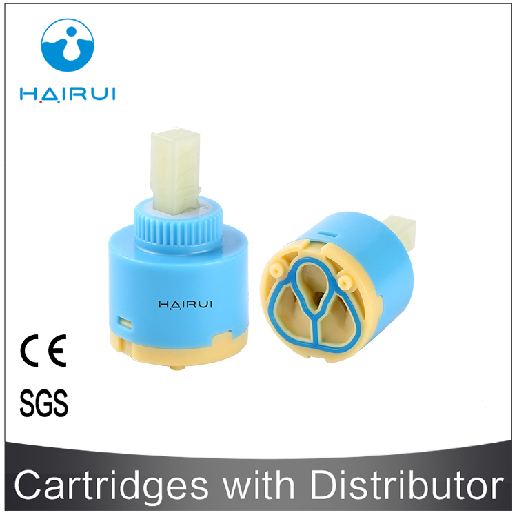 Factory supply HR40D-FX1 flat foot idling faucet valve inner ceramic disc cartridge