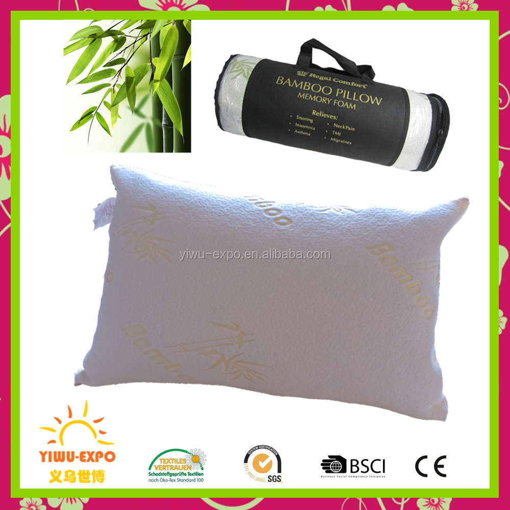 Bamboo Pillows manufacturers Luxury Shredded Memory Foam bamboo memory foam pillow
