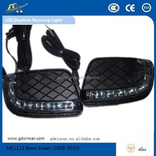 Fabrica led auto accesorio duradero día light para benz smart led daytime running light (2006-2013)