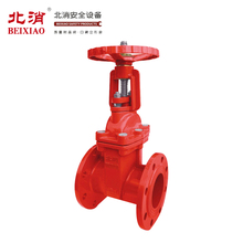 Famous Brand BEIXIAO Flanged Rising Gate Valve