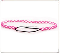 Wholesale Price Pink Silicon Hair Accessories Elastic Band