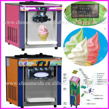 Hot Sale 1,2,3 Flavor Automatic Commercial Table Top Big Capacity Cheap blizzard dq ice cream machines Prices For Sale