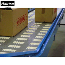 Hairise electric assembly transition plate packing belt material handling conveyor for food slats material conveying systems